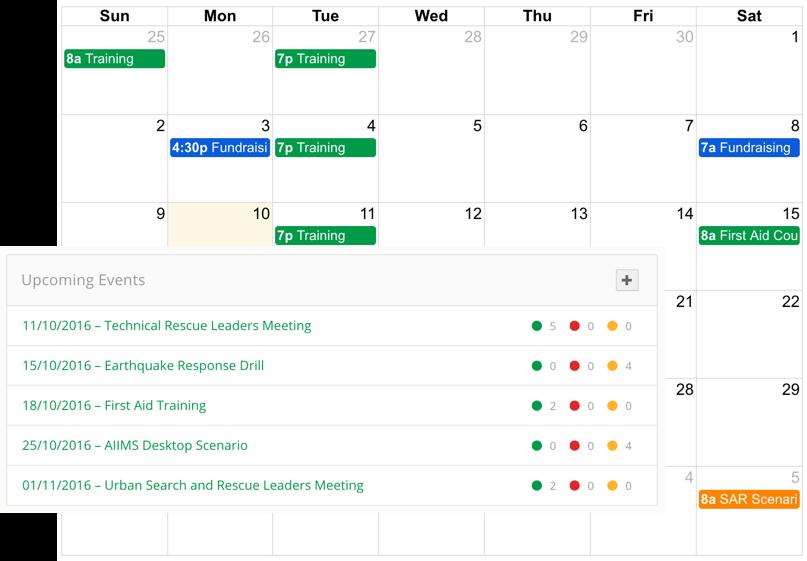 Feature  calendar